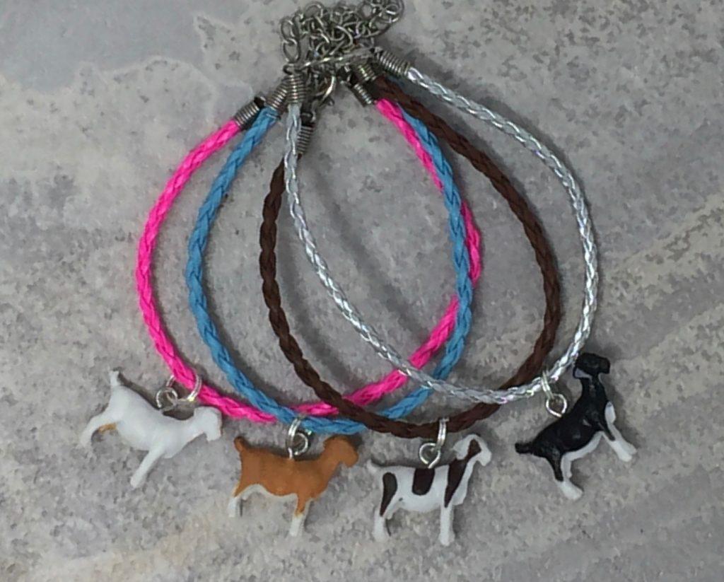 Tiny Goat Charm Bracelets!